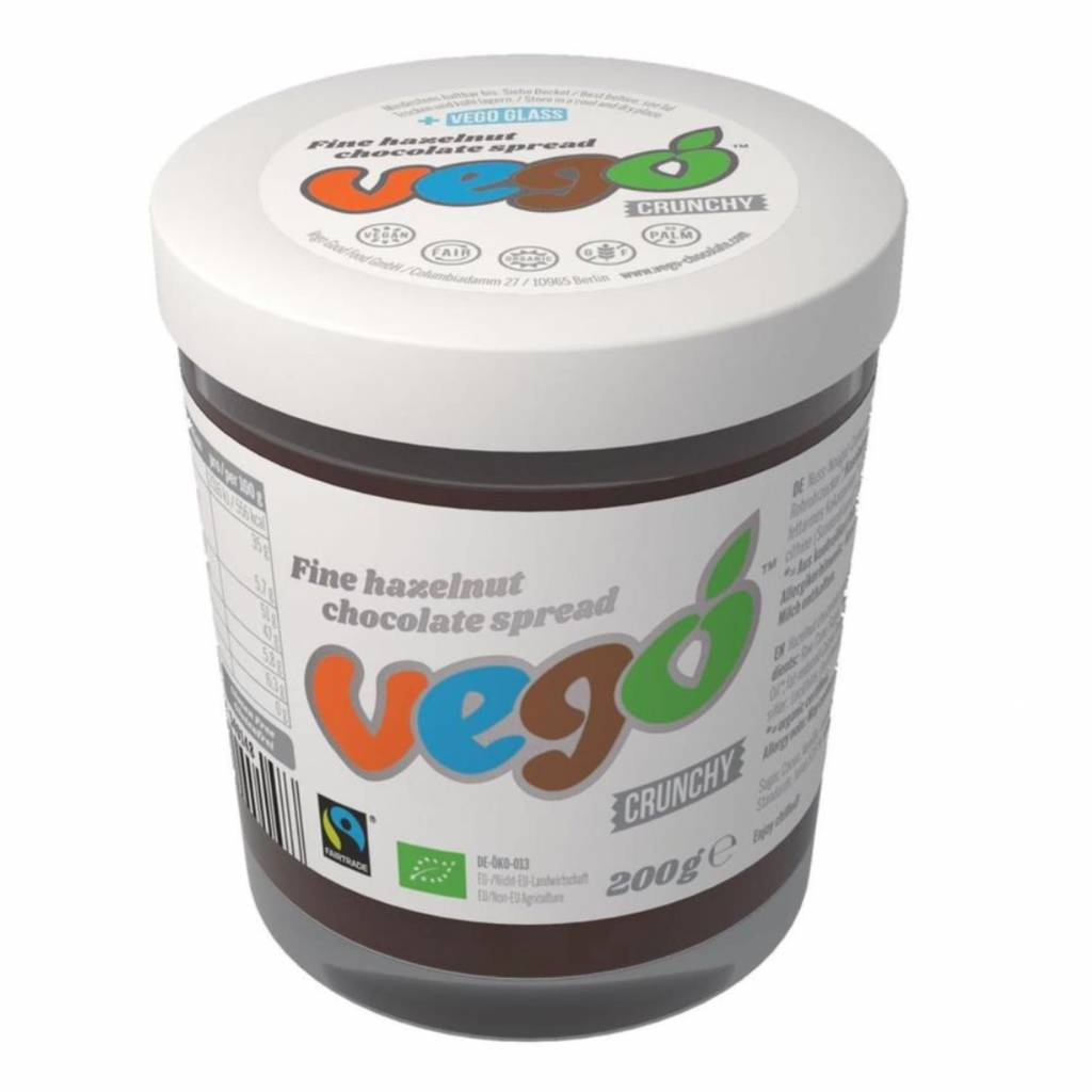 Vego Hazelnut Chocolate Spread 200g - Shipping From Just £2.99 Or FREE When You Spend £55 Or More