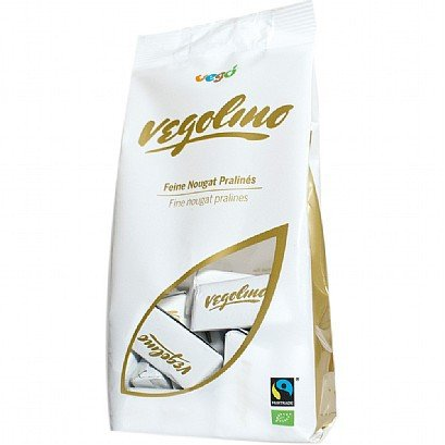 Vego Vegolino Vegan Pralines 180g - Shipping From Just £2.99 Or FREE When You Spend £55 Or More