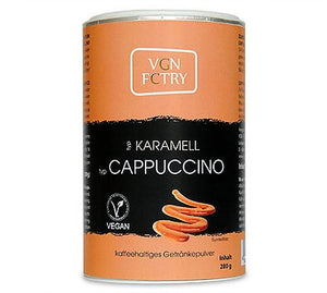 VGN FCTRY Karamell Cappuccino Mix 280g - Shipping From Just £2.99 Or FREE When You Spend £60 Or More