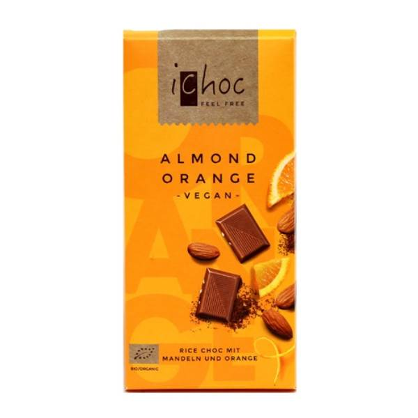 iChoc Almond Orange Rice 80g - Shipping From Just £2.99 Or FREE When You Spend £60 Or More