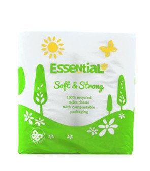 Essential Toilet Roll Recycled 4pk - Shipping From Just £2.99 Or FREE When You Spend £55 Or More
