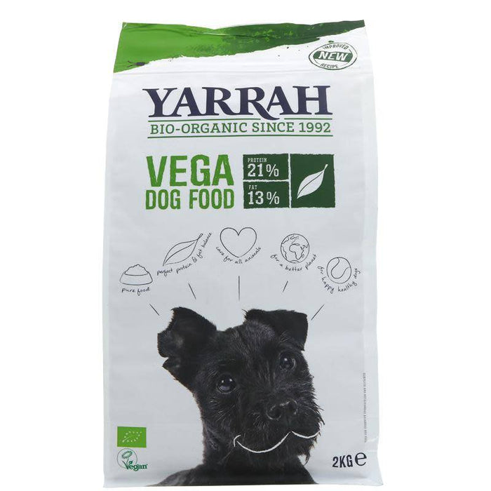 Yarrah Vegetarian Organic Adult Dog Food - 2kg