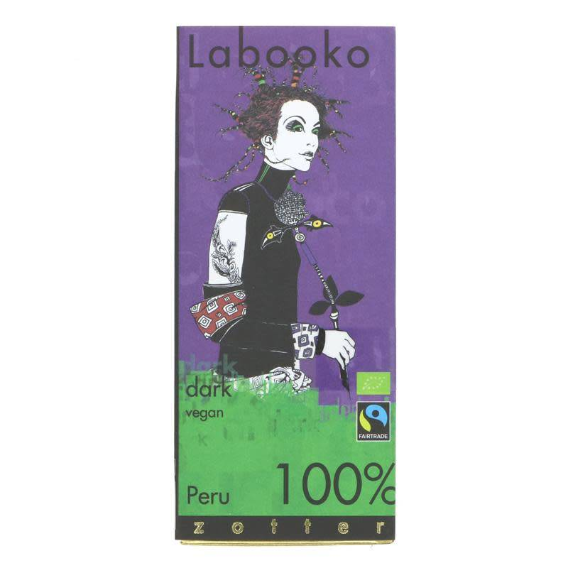 Labooko 100% Peruvian Dark Chocolate 65g