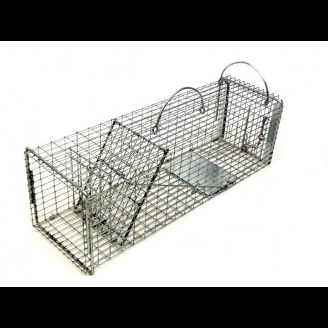 Tomahawk 7x7 Flush Mount Pro Series Skunk Trap w/ Rear Access Door