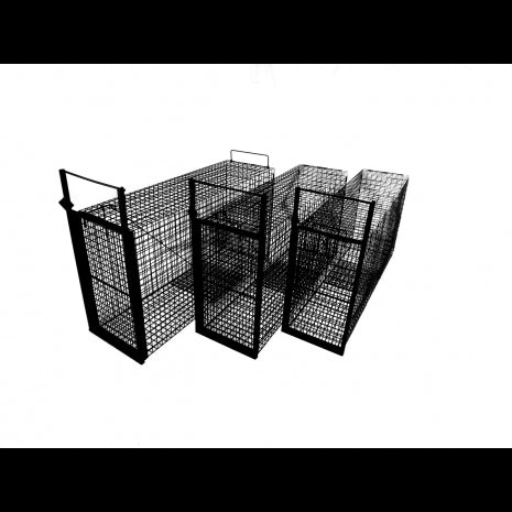 Tomahawk Three Pack of Nest-able Cage Traps for Bobcat with FREE SHIPPING!