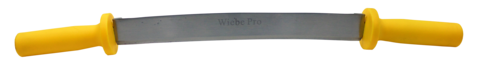 "Wiebe 12"" Pro Double Handle Fleshing Knife"