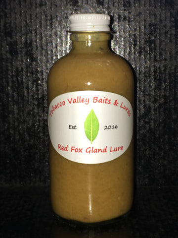 Tobacco Valley Baits & Lures Red Fox Gland Lure