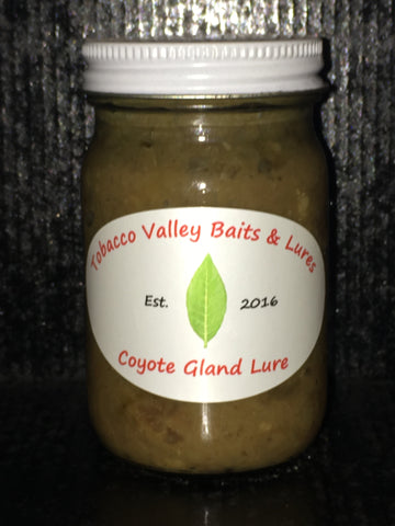 "Tobacco Valley Baits & Lures Coyote Gland Lure ""Deep Freeze"""