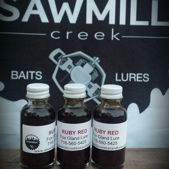 Sawmill Creek Baits & Lures Ruby Red Fox Lure-1 oz.