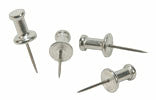 Moore Push Pins 5/8 in. aluminum pack of 100