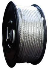 "3/32"" 7x7 Galvanized Aircraft Cable"
