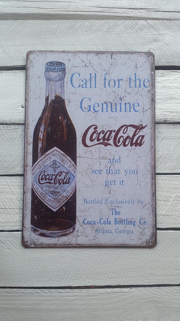 A4 Vintage Coca-Cola Advertisement