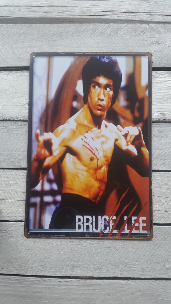 A4 Iconic Bruce Lee Sign