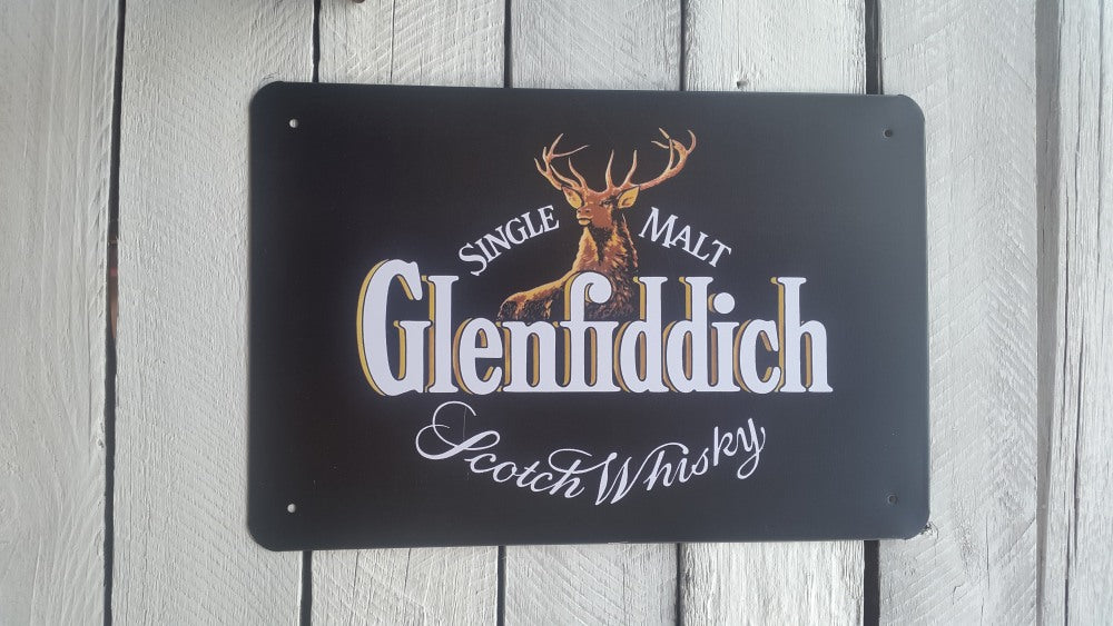 A4 Glenfiddich Sign