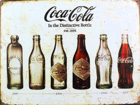 40 x 30 cm Coca-Cola Distinctive Bottle Design
