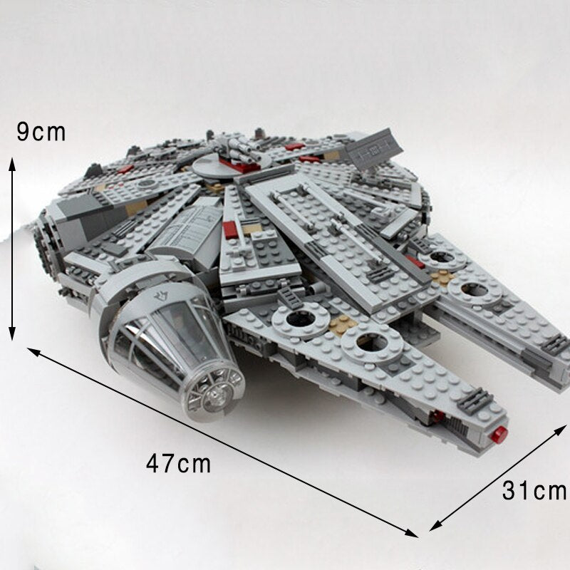 Star Wars Sets Series Compatible Lepin Millennium Model Building Blocks 75105