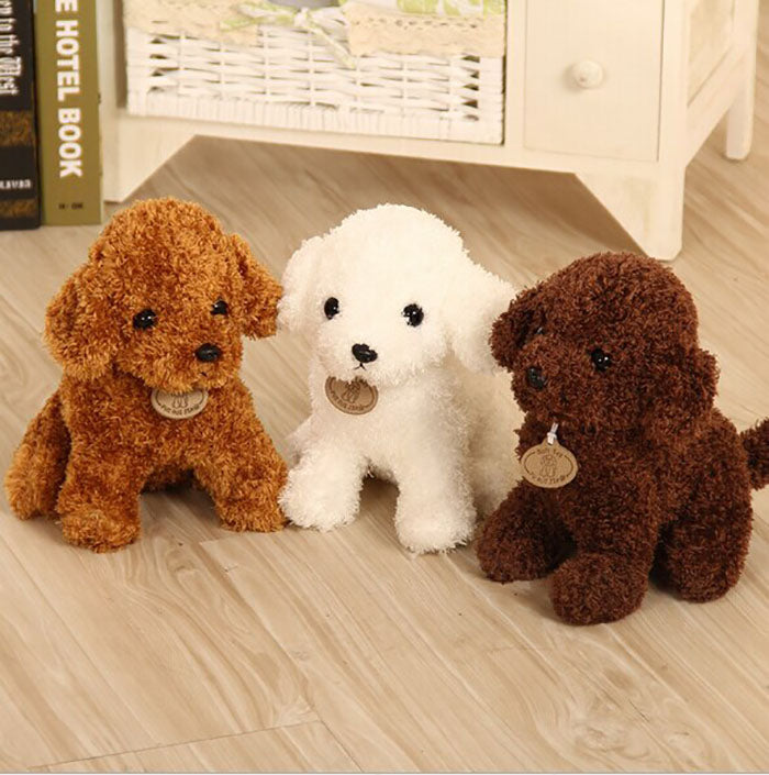 Dog Teddy Bears Simulation Lady Stuffed Toys Dolls