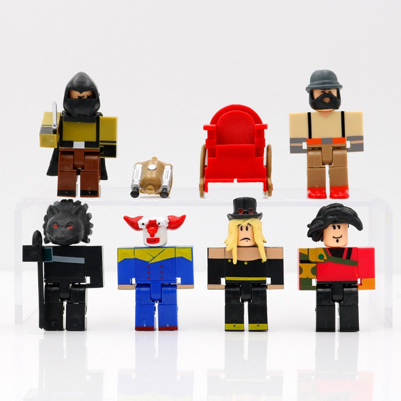 Roblox Toys Night of The Werewolf Six Figure Pack PVC Suite Dolls Model Gift For Boys