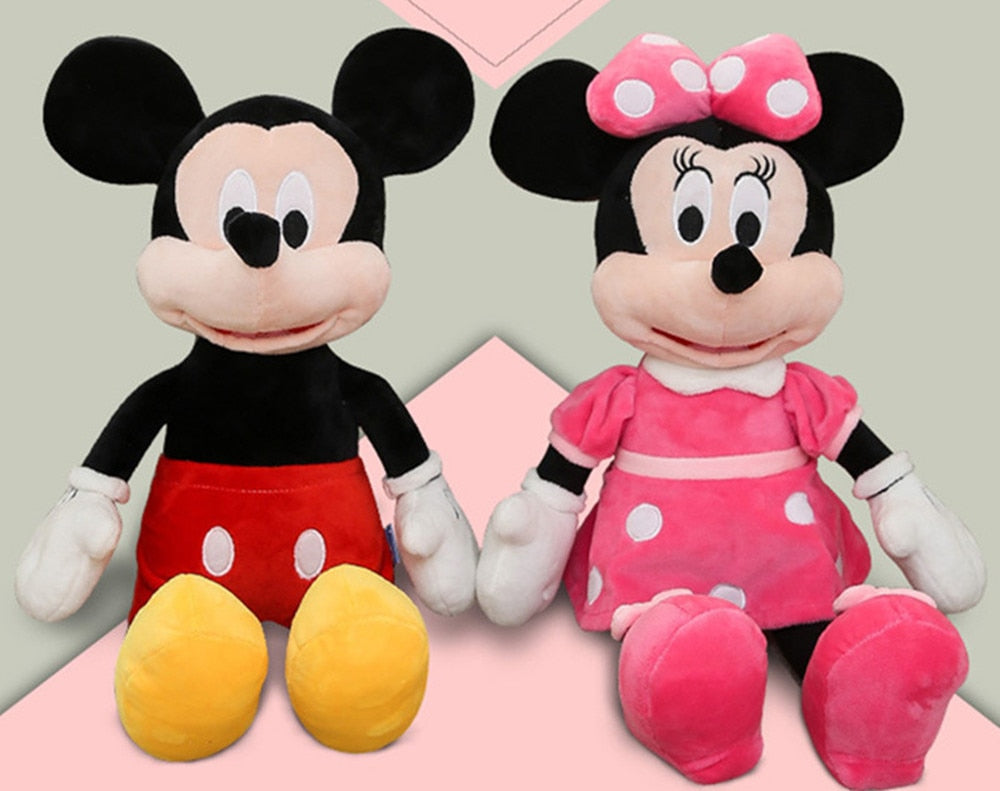 Minnie Mouse Plush Toy Dolls For Kids Baby Children
