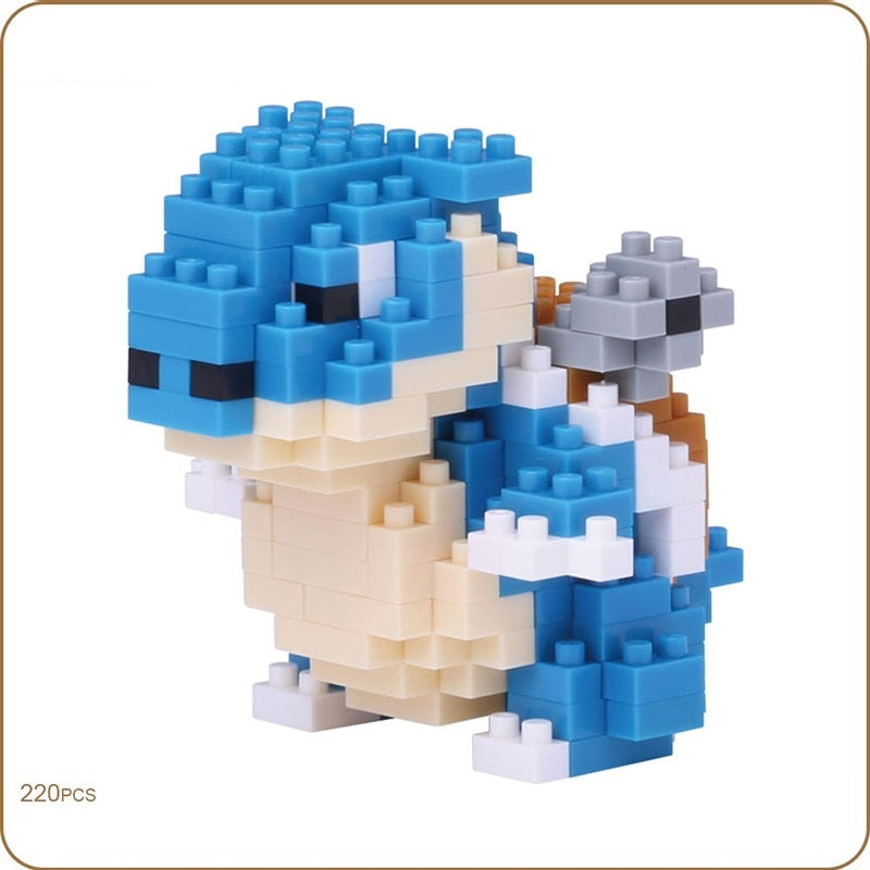 Blocks Pokemon Nano Block KAMEX Block Building Bricks Toys 220pcs