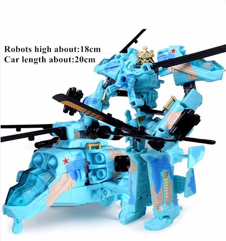 Transformers Toys Anime Action Figure ABS Robot Car Tank Plastic Model Gift For Kids AB152