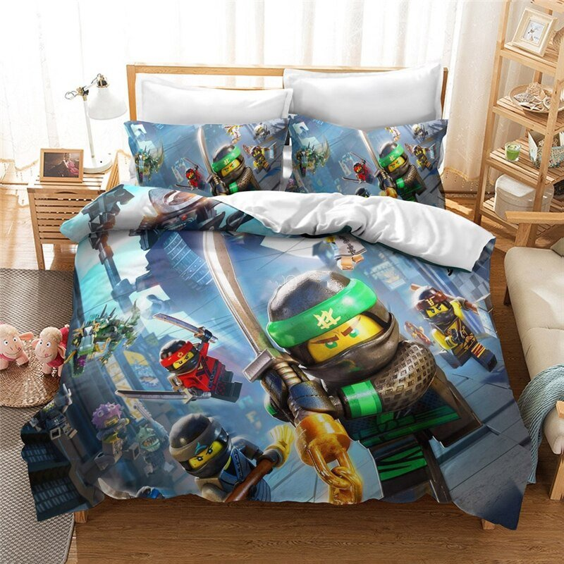 Star Wars Bedding 3D Roblox Bed Linen Luxury Funny Bed Room
