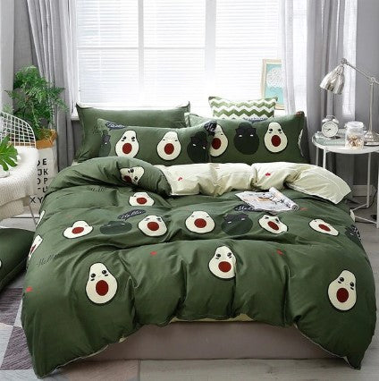 Home Textile Autumn Dark-color Flower Series Bedding Sets Duvet Cover Bed Sheet Kids Bedding Sets Twin/Full/Queen/King size