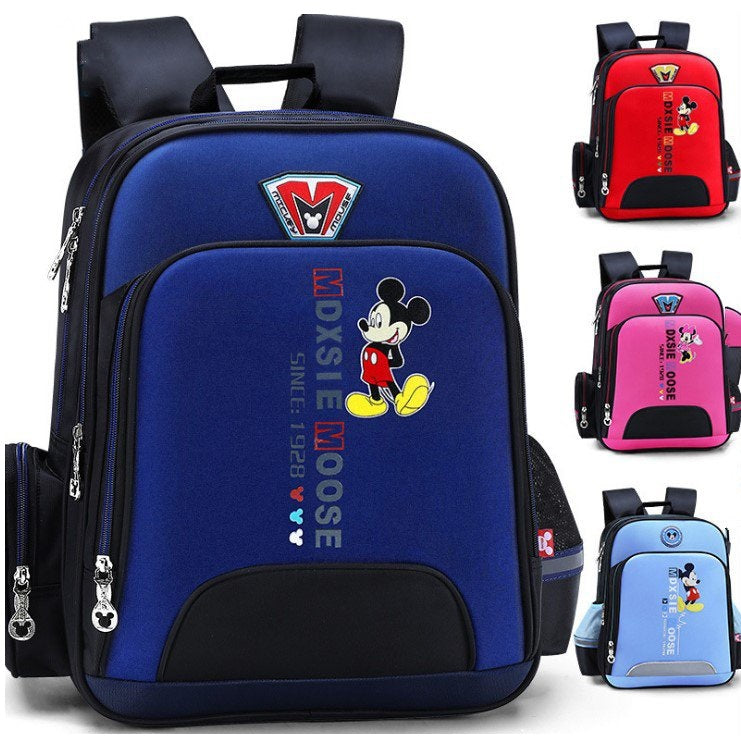 Mickey Mouse Backpack Primary Schoolbag For Kids