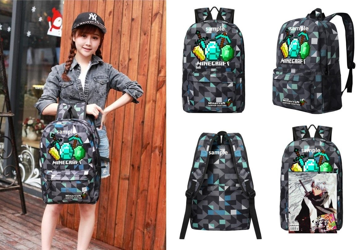 Minecraft Backpack Premium