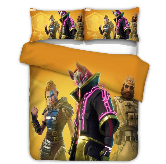 Fortnite Bed Set 3D Cross-Border Home Textile For Fan