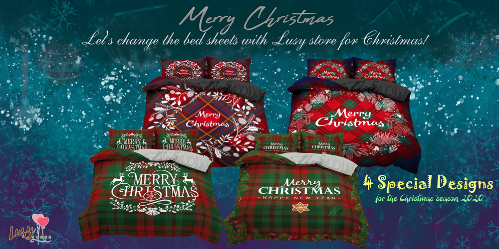 Christmas Bedding Sets - Lusy Store