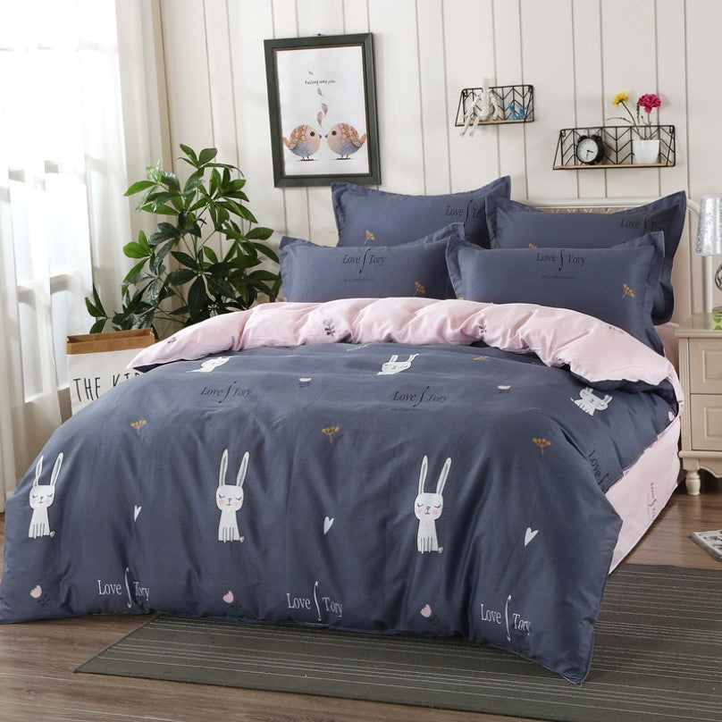 Kids Bedding Sets Cotton Home Textile Bedding Student Dormitory Sheets