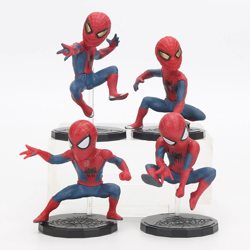 Spiderman Toys Home Coming PVC Action Figure Collectible Model Toy