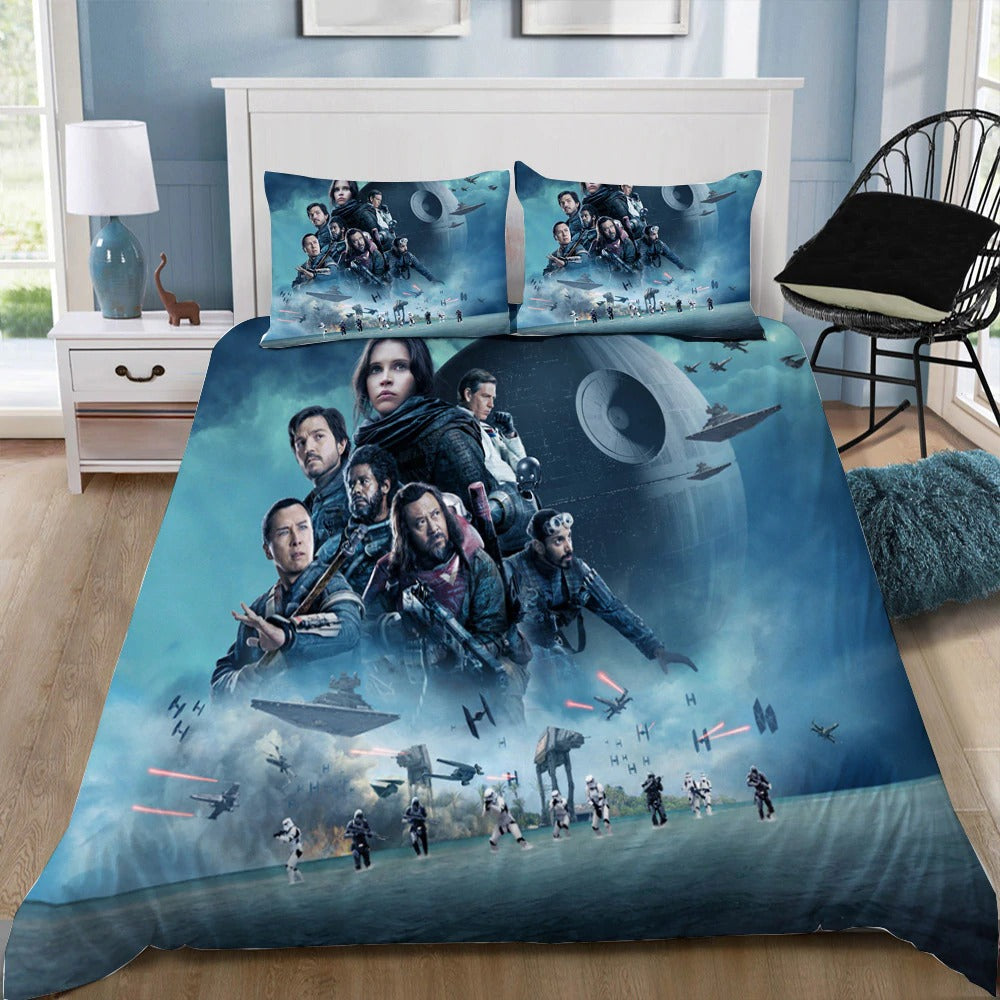 Star Wars Bedding 3D Printed Duvet Cover Set Queen King Twin Size Unique Bed Room
