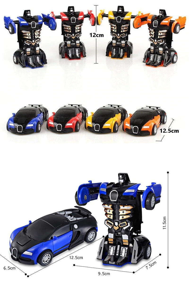 Transformers Toys Deformation Robot Car Plastic Model Toy For Boys