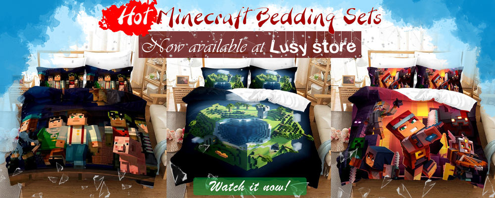 Minecraft Bedding - Lusy Store