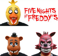 Bonnie Foxy Freddy Fazbear Bear mask, gift for kids - Lusy