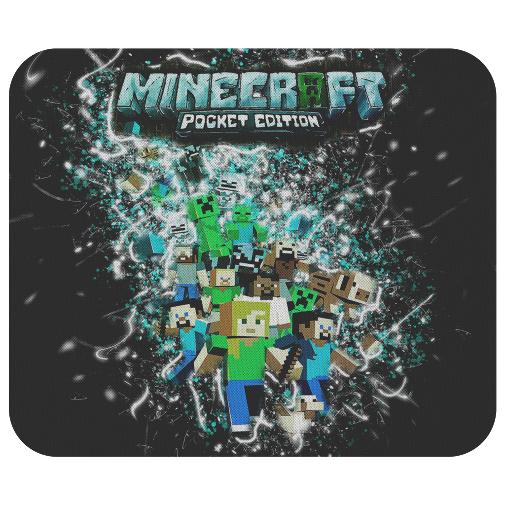 Minecraft Mouse Pad Frozen Glory