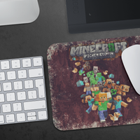 Minecraft Mouse Pad Impasto Oil Paint - Lusy Store