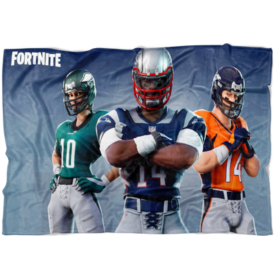 Fortnite Fleece Blanket NFL Soft and Cozy Blanket FB473