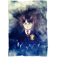Harry Potter Fleece Blanket Haze Blue Blanket