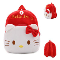 Children plush backpack cartoon bags kids baby school bags cute Hello Kitty for kindergarten girls - Lusy Store