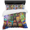 Minecraft Bedding Set colorful soft kids bedding