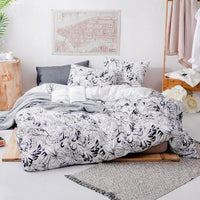 Floral Bedding Nordic Bedspread Duvet Cover Set Home Decor Bed Linen