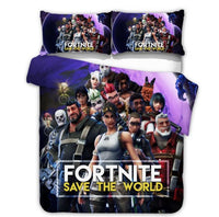 Fortnite Bed Set 3D Cross-Border Home Textile For Fan BG167 - Lusy Store