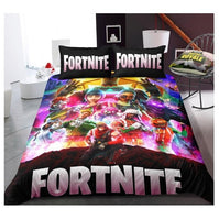 Fortnite Bed Set 3D Cross-Border Home Textile For Fan FTN42 - Lusy Store