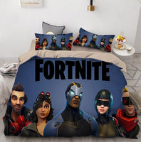 Fortnite Bed Set 3D Digital Home Textile Europe and The United States Quilt Cover High Quality BD162 - Lusy Store