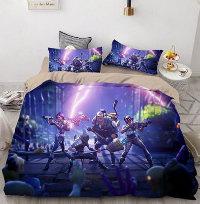 Fortnite Bed Set 3D Digital Home Textile Europe and The United States Quilt Cover High Quality BD169