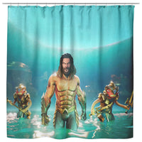 Fortnite Curtain Aquaman Sea Curtain Bathroom Decor FB470