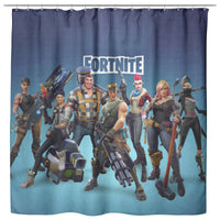 Fortnite Curtain Bathroom Decor FB471